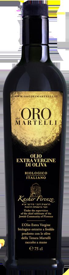 Bottiglia 750ml, Olio Evo Oro dei Martelli