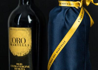 Olio Evo Bio Oro dei Martelli, shopper tessuto